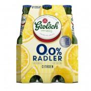 Grolsch Radler lemon 0.0% fles 6 x 30 cl