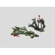 Army Air Force Fighter Plane 3 in 1 Building Blocks 191pc set Compatible to Lego Parts - Great Gift for Children
