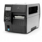 Zebra ZT410, 300 dpi, RTC, display, RFID schrijver, USB, RS232, Bluetooth, Ethernet, incl. netsnoer, excl. aansluitkabel