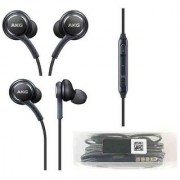 AKG Earphone For All Mobiles Earphone with Mic Best Sound Quality Black Color Earphone Hean