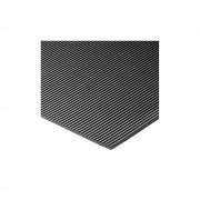 Bodenmatte mit geschlossener Oberfläche, pro lfd. m Breite 1200 mm, Mattenhöhe 3 mm