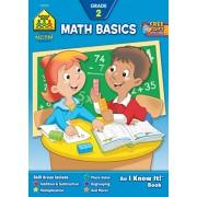School Zone Curriculum Workbooks, Math Basics Grade 2