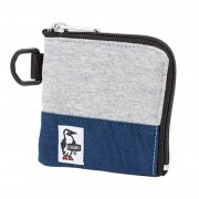 【セール実施中】【送料無料】Square Coin Case Sweat Nylon CH60-0693-G019 H-Gray/Basic Navy