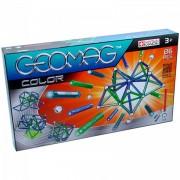 Geomag 86 darabos színes mágneses építőjáték készlet