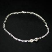 Pulseira de prata 925 de elos 18 cm / 2 mm
