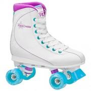 Roller Derby U725W-07 Womens Roller Star 600 Quad Skate, Size 07, White/Lavender