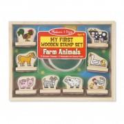 Primele mele stampile Animale de la ferma, Melissa and Doug