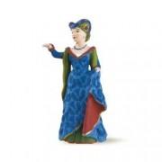 Figurina Papo - Printesa medievala albastra