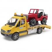 Bruder Toys Grua Bruder Toys Mercedes Benz Sprinter Con camioneta cross country