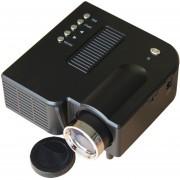 UC28 + Mini Proyector Proyector De Video Multimedia De Resolución De 200 Lúmenes LED 320x240