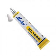 Маркер в туба, топлоустойчива боя, ролер, HT1000, WHITE, бял, 3 mm, 10 бр./оп., 10330131, MARKAL