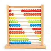 Rainbow Bead Abacus Toy Classic Math Educational Counting Toys for Kids Gifts