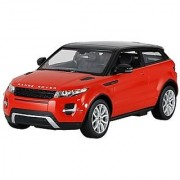 RASTAR Authorized 1:14 Land Rover Range Rover Evoque RC Toy Car with LED Lights (Red) + Worldwide
