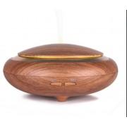Elegance hidegpárásító készülék, kerek, közép barna, fa-színű, 150 ml-es