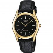 Reloj Casio Análogo LTP-1094Q-1A Para Dama - Dorado Y Negro