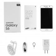ER Renovado Samsung Galaxy S6 G920 De 5,1 Pulgadas 16MP 32G Smartphone Capacitivo -Blanco