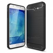 Caso de TPU de fibra de carbono de Dayspirit para Samsung Galaxy J7 (2017)? J730 (EE.UU.)