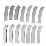 ELECTROPRIME 14x Chrome Front Center Grill Grille Molding Cover Trim for BMW X5 X 6 14-16