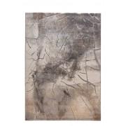 Designteppich Stone 80 x 150 cm Beige Polypropylen
