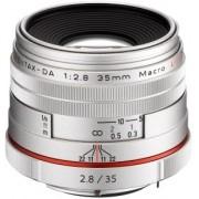 PENTAX 35mm Macro f/2.8 HD Limitada DA Prata