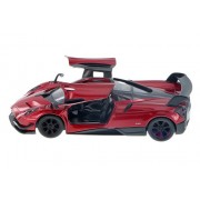 Kinsmart 1:38 Scale Die-Cast Pagani Huayra BC with Openable Doors and Pull Back Action