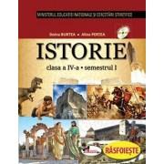 Istorie. Manual clasa a IV-a (partea I+II+CD)