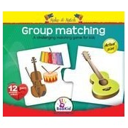BooKid 7290105889041 Make a Match Puzzles Group Matching