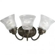 Progress Lighting P3289-09 Lámpara de baño (3 luces), Transicional, 19-1/2-Inch Width x 9-Inch Height, Bronce antiguo