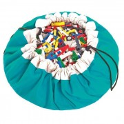 PLAY & GO Sac rangement / Tapis - Turquoise - Play and Go