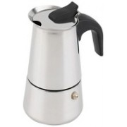 SVA coffee maker 4 cup 4 cups Coffee Maker(Stainless steel)