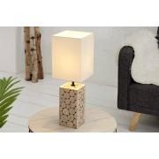 Bighome.cz Bighome - Stolní lampa NATUR – bílá