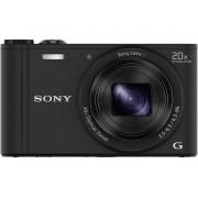 Sony Cyber-Shot DSC-WX350B Digitale camera 18.2 Mpix Zoom optisch: 20 x Zwart Full-HD video-opname, WiFi
