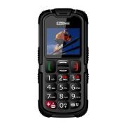 Maxcom MM910 mobiltelefon, dual sim-es kártyafüggetlen, ütés-, por-, víz (IP67)- és sár ellen fekete