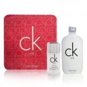 Calvin Klein Ck One 100ml Apă De Toaletă + 75ml Deodorant Stick I Set