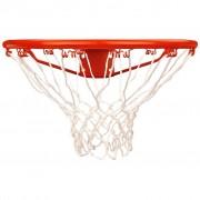 New Port Баскетболен кош с мрежа, оранжев, 16NN
