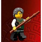 LEGO Ninjago Minifigure - Sensei Garmadon Ninja with Staff (70750)