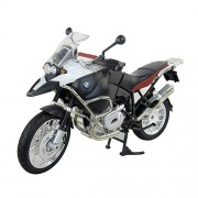 Adraxx 1:9 Licensed BMW R-1200 Super bike Die cast Metal Scaled Down Detailed Model For Collectors