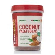 BareOrganics COCONUT PALM SUGAR (Organic) (16oz) 454g