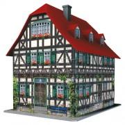 Ravensburger puzzle 3d casa medievala, 216 piese