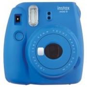 Fujifilm Aparat Instax Mini 9 Niebieski + Pokrowiec + Wkład 10 szt.