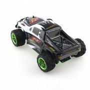 JJRC Q35 2.4G 4WD 1/26 30 + km / h Monster Truck RC Car - Negro