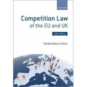Competition Law of the EU and UK, Paperback/Sandra Marco Colino