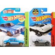 Hot Wheels Fast & Furious Mainline '70 Ford Escort RS1600 & Corvette Grand Sport Roadster