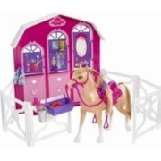 Figurina Mattel Horse and Stable - Barbie