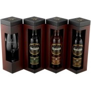 Glenfiddich Explorer's Collection cu Pahar 3x0.2L