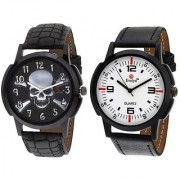 Evelyn Combo of 2 Men Watches EVE-380-377