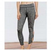 Pantalones De Yoga Para Mujeres Fitness Gym Tights Sports - Negro