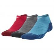 Chaussettes Nike Dri-FIT Cushion No-Show pour Enfant plus âgé (3 paires) - Multicolore