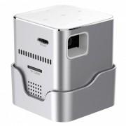 ORIMAG P6 Mini Smart Portatil DLP LED FHD Proyector - Plata (enchufes de los EEUU)