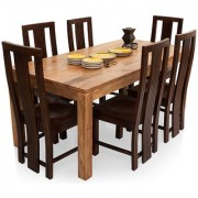 Shagun Arts - Gresham-Capra 6 Seater Dining Table Set